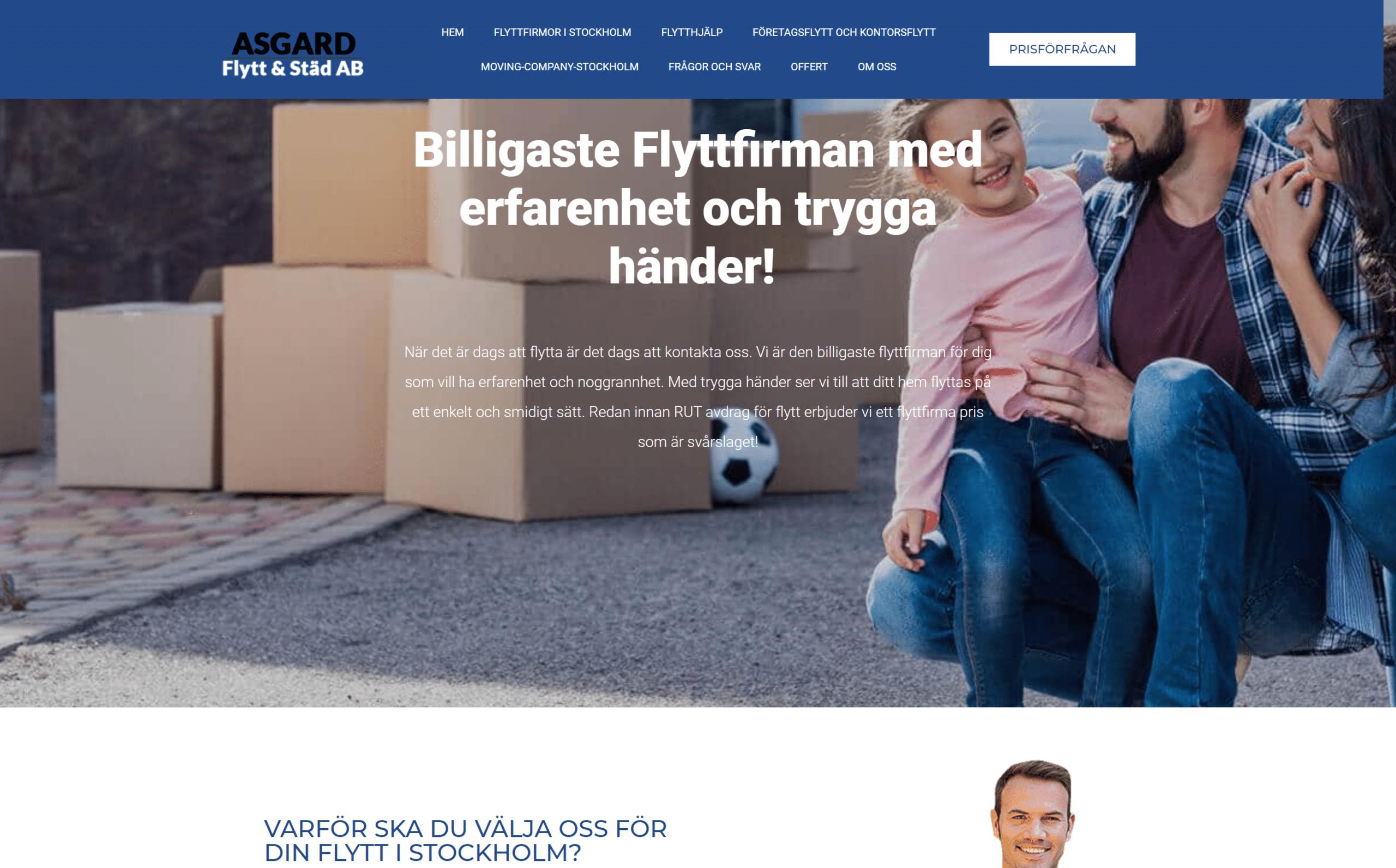 Flyttfirma i Stockholm